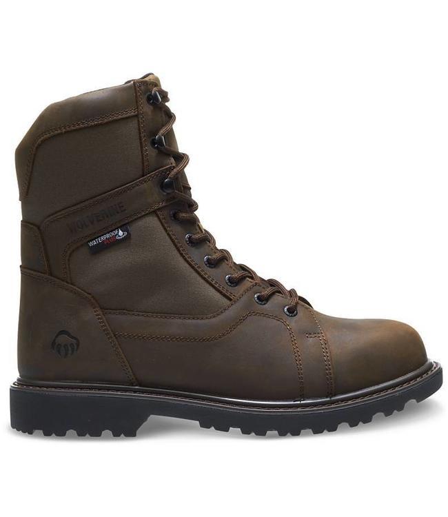 "Wolverine Hunting Boot Insulated Waterproof Women's 8"" Blackhorn W30176"