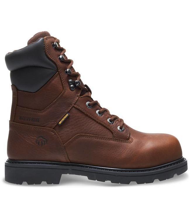 "Wolverine Boot 8"" Waterproof Farmhand W10876"