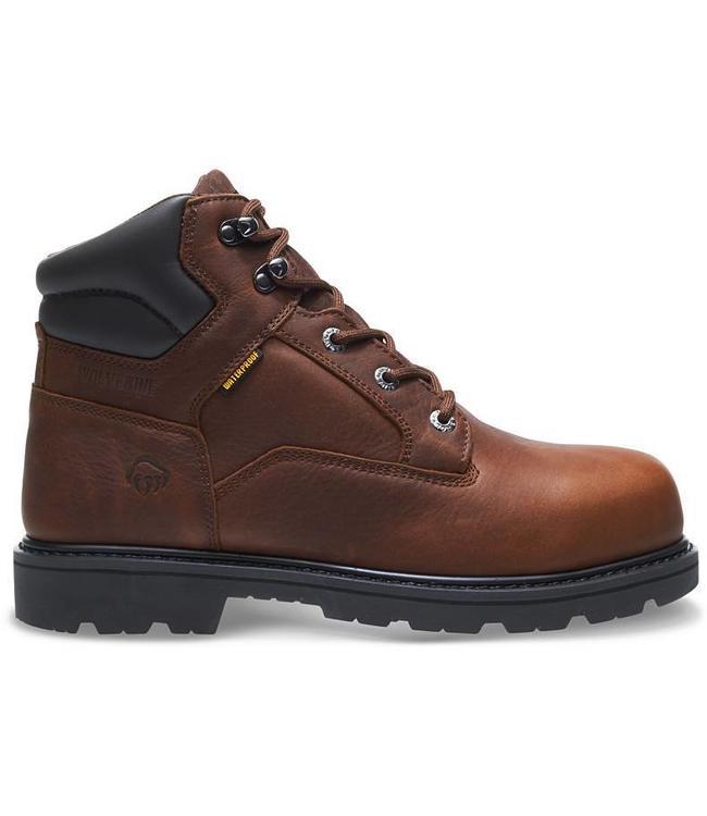 "Wolverine Boot 6"" Waterproof Farmhand W10878"