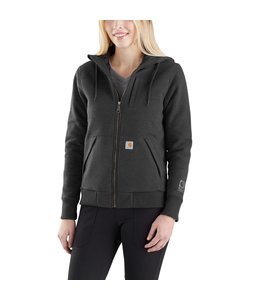 Carhartt Sweatshirt Hooded Full-Zip Quilt-Lined Rockland Rain Defender 103242