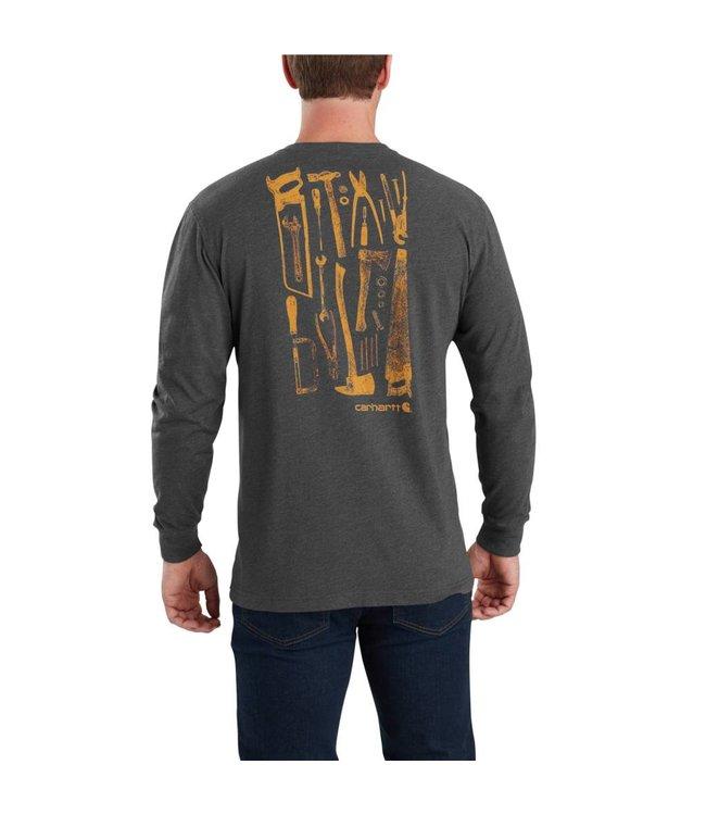 Carhartt T-Shirt Long-Sleeve Tool Graphic Maddock 103305