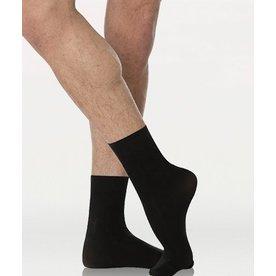 BODYWRAPPERS Men's Dance Socks M71 Black