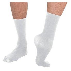BODYWRAPPERS Men's Dance Socks M71 White
