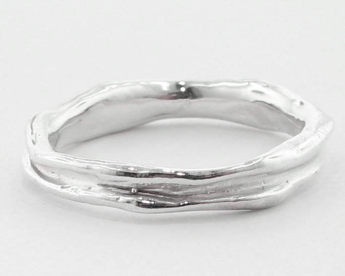 Organic Silver Band, Skinny Melted