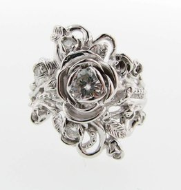 rose shaped wedding ring Wexford Jewelers