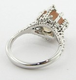 Vintage Sunstone Silver Ring, Princess
