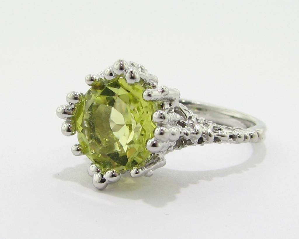 shop engagement vintage green ring a colombian rings products quartz emerald