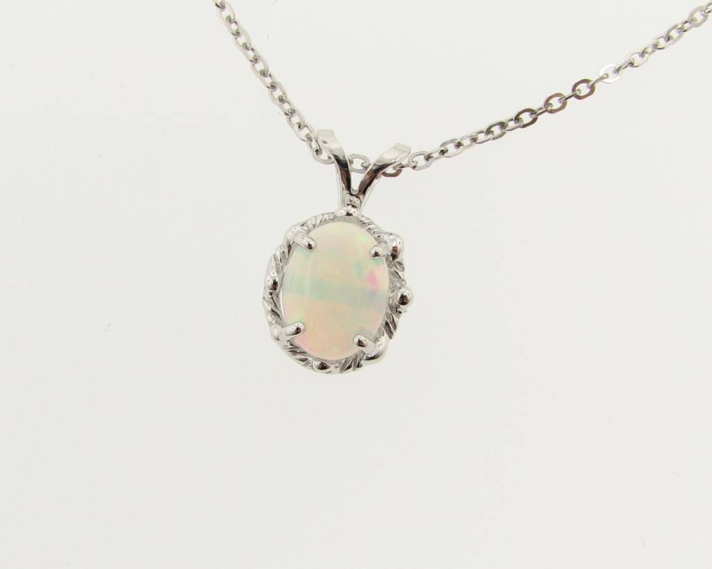 pendant tusk small online white chick product pink opal necklace necklaces
