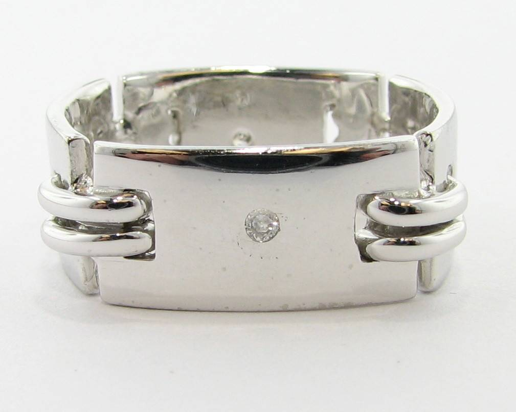 art diamond french bands vintage ring eternity band products deco victoria