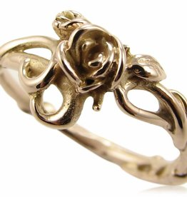 Signature Rose Rose Garden Ring, Rose Gold