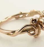 Signature Rose Rose Garden Ring, Rose Gold