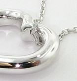 Signature Heart White Gold Heart Pendant, Mi Cara