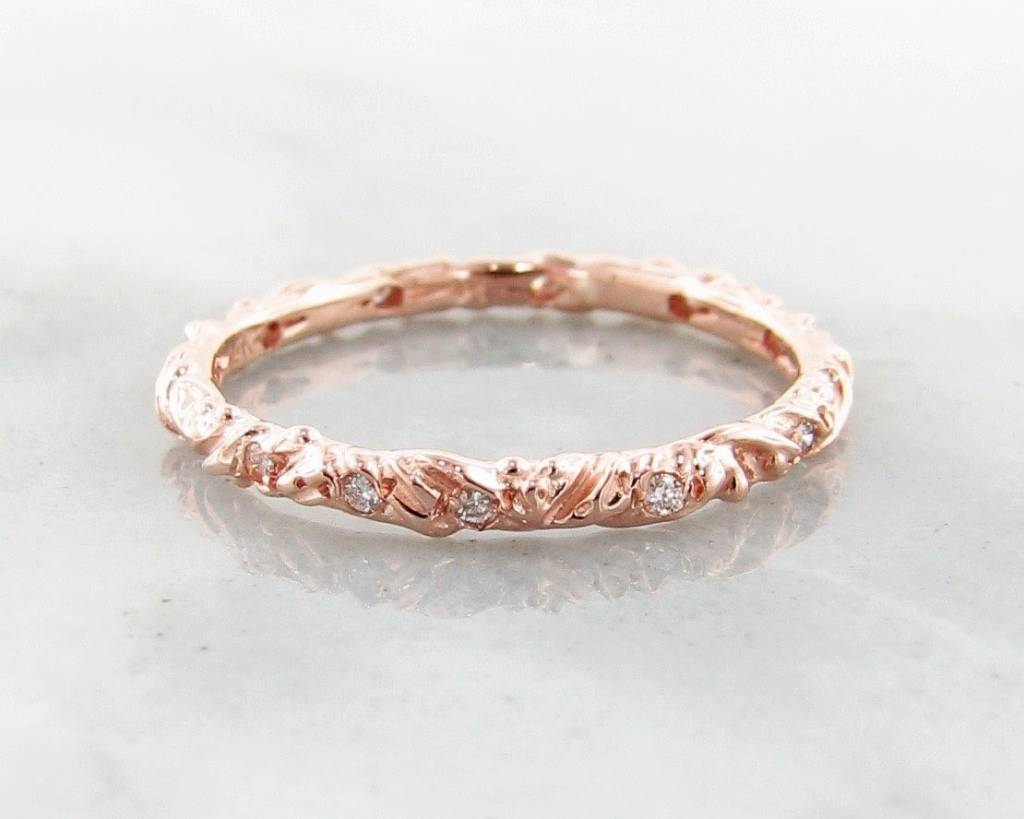 wedding by round graff brilliant in eternity pink gold band ring her for collections diamond bands rose cut