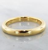Sleek 22K Yellow Gold Ring, Slender