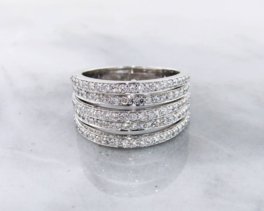 baguette eternity wg band ring boutique am bands az uneven diamond azil products