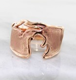 Rustic Michigan Copper Ring