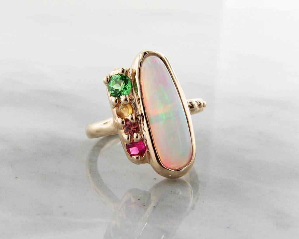 nile blue ca in diamond gold and detailmain ring white opal main phab lrg