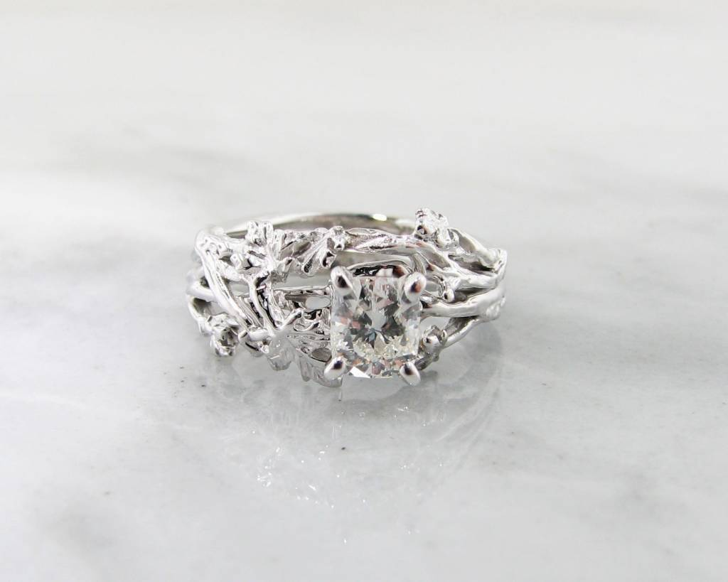 platinum natalie wedding k ring antique m halo engagement setting set diamond style p
