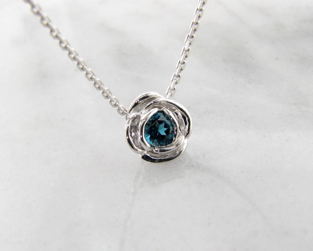 women jewelry necklace island floating tacori rains bezel s necklaces blue topaz
