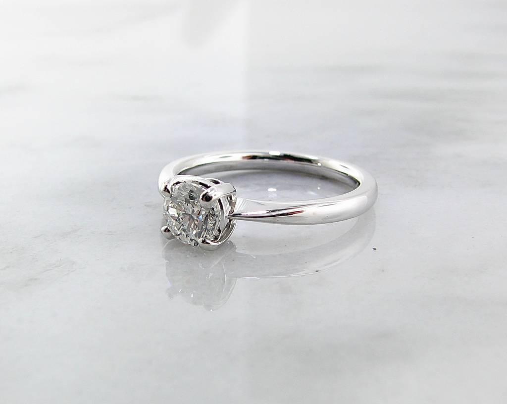 Timeless Bridal White Gold Diamond Engagement Ring,  Wexford Legacy
