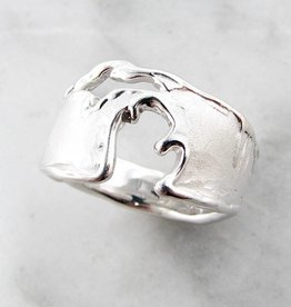 Organic Michigan Silver Ring