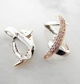 Frank Reubel Yellow White Gold Diamond Earring Jackets, Atlantic Ribbon