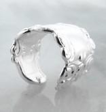 Vintage Silver Spoon Ear Cuff