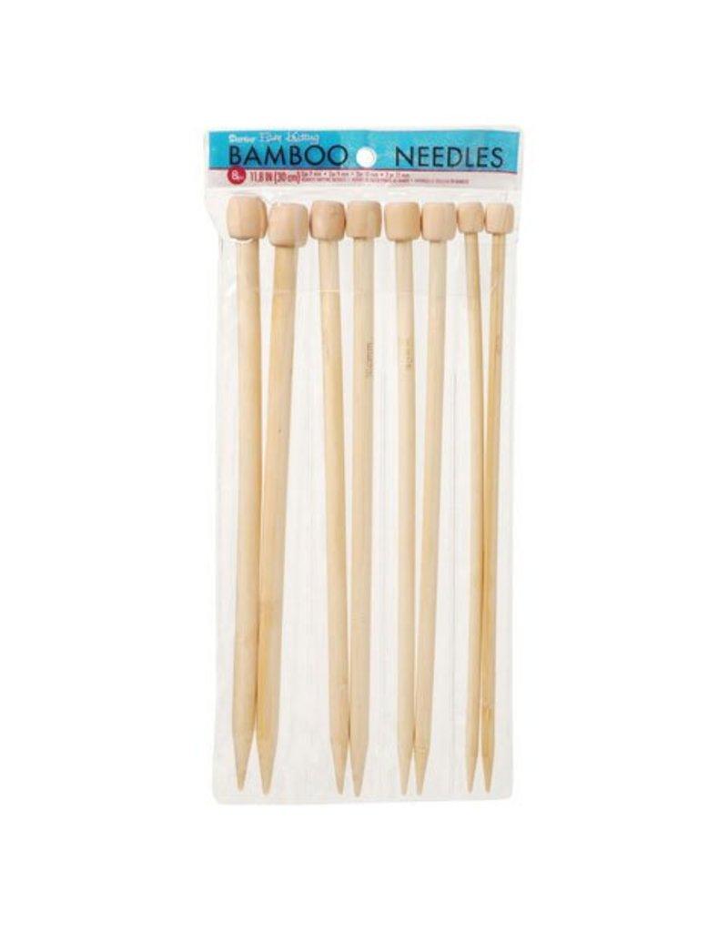 Bamboo Knitting Needles Set of 4