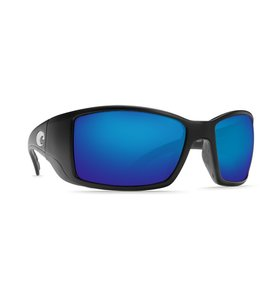 Costa Del Mar Blackfin Matte Black/Blue Mirror Lense 580G