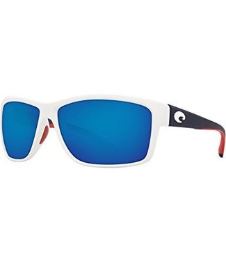 Costa Del Mar Mag Bay USA Edition 580P Blue Mirror Lens Sunglasses