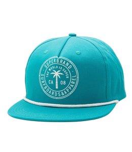 SUPER BRAND Palmera Turqoise Hat