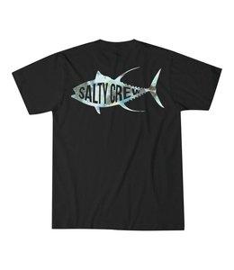 Salty Crew Fisher Black Tee