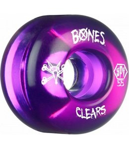 55mm Skatepark Formula Clears Wheels
