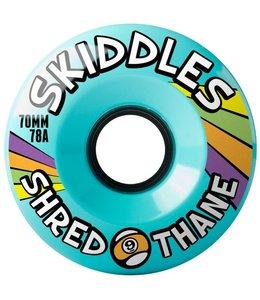 Sector 9 70mm Skiddles Shredthane Longboard Wheels
