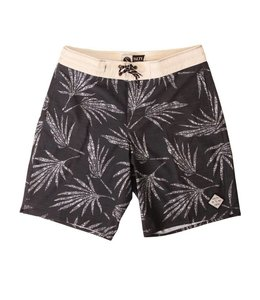 Salty Crew Palm Deck Black Boardshort