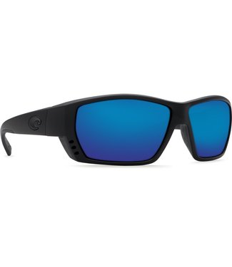 Costa Del Mar Tuna Alley Blackout 580G Blue Mirror Lens Sunglasses