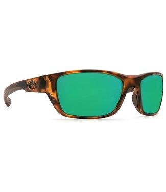 Costa Del Mar Whitetip Retro Tort 580P Green Mirror Lens Sunglasses