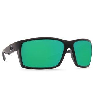 Costa Del Mar Reefton Blackout Green Mirror 580G Sunglasses