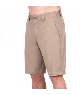 Volcom Frickin Mod Stretch Khaki Shorts