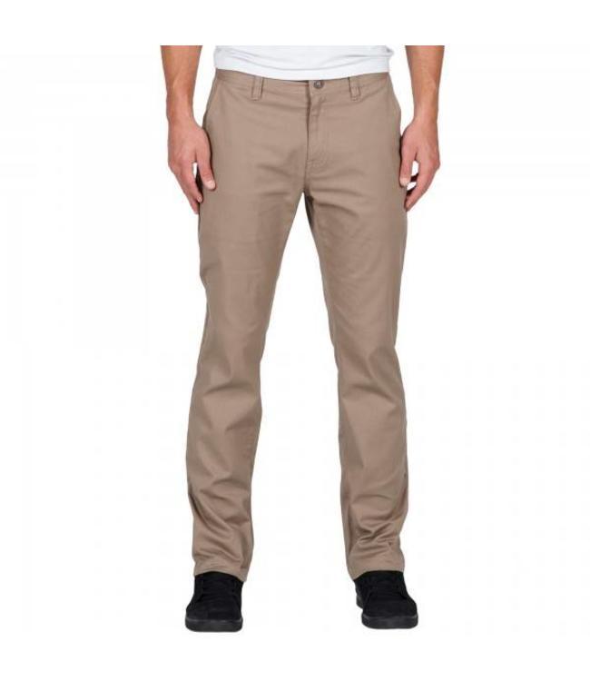 Volcom Frickin Modern Stretch Chino Khaki Pants