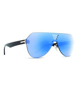 Vonzipper Alt Farva Black Gloss Flash Sky Blue Lens