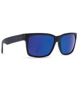 Vonzipper Elmore Black Satin Wild Blue Lens Polarized