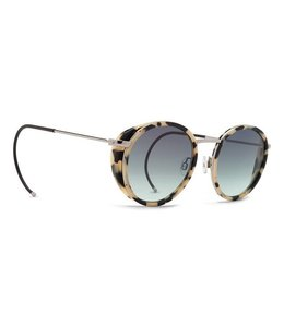 Vonzipper Empire Cream Tortoise Gloss Vintage Grey Gradient Lens
