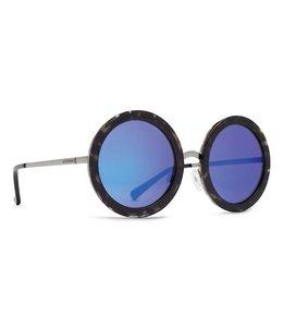 Vonzipper Fling Black Tortoise Blue Chrome Lens