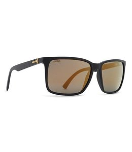 Vonzipper Lesmore Black Gloss Wild Gold Flash Polarized
