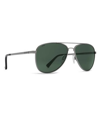 Vonzipper Statey Charcoal Gloss with Polar Vintage Grey Lens Sunglasses