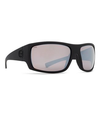 1fd530141a20 Vonzipper Suplex Black Satin with Wild Rose Chrome Polar Lens Sunglasses