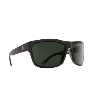 Spy Optics Angler Matte Black Happy Gray Green Lens Polarized