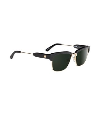 Spy Optics Bellow Black Silver Gray Green Lens Polarized