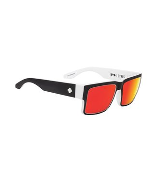 Spy Optics Cyrus Whitewall Happy Grey Green Red Spectra Lens